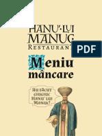 Hanu' Lui Manuc Meniu Mâncare (1)