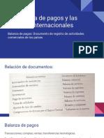 La Balanza de pagos y las finanzas internacionales.pptx