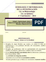 1 Ciencia, Epistemologia y Actividad Cientifica EXPO 2