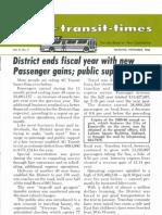Transit Times Volume 9, Number 7