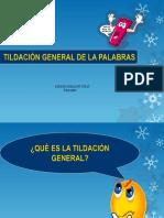 Tildación General