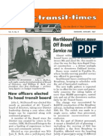 Transit Times Volume 9, Number 9