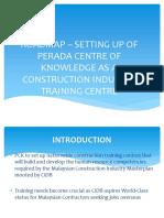 OSI Roadmap as a Training Centre