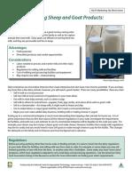 Dairy Tip Sheet