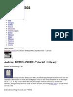 Arduino DHT22 (AM2302)