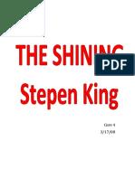 The Shining Vocab