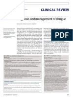 Diagnosis and management of dengue