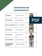 Medicos Staff 2012 Octubre