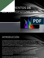 Fundamentos de Espectrofotometría