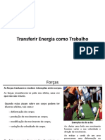 Transferência de Energia Como Trabalho