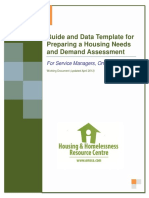 SM Guide and Data Template for Preparing HN and D Assessment April 20131
