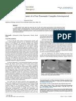 Endovascular Management of a Posttraumatic Complex Arterioportal Fistula 2329 6925 1000198