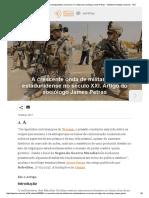 A Crescente Onda de Militarismo Estadunidense No Século XXI