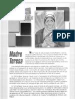 BIOGRAFIA MADRE TERESA DE CALCUTA