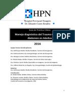 40 GPC Trauma Abdomen Cerrado HPN 2016