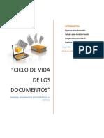 El Ciclo de via de Los Documentos