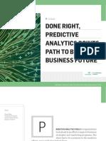 Managing Predictive Analytics Projects