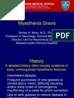Myasthenia Gravis Guest Lecture