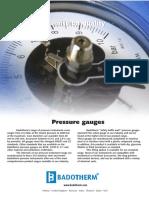 Pressure gauges