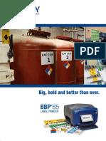 Bbp85 Printer Brochure