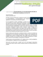 Tema 1 Recontextualización y Recontextualización