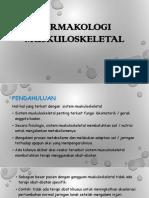k.9 Farmakologi Muskuloskeletal