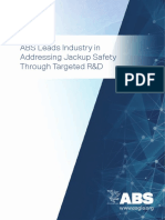 ABS Jackup Safety White Paper