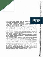 Sempat Assadourian, Cardoso, Garavaglia, Laclau Et Al., Modos de Producción en América Latina.