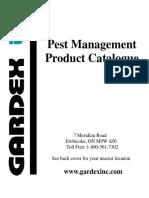 Gardex Catalogue 2010