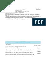 Practice Paper Math-09