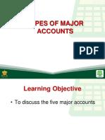 8 types of major accounts