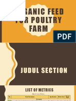 1214241_Organic Feed for Poultry Farm