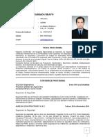 CV Ing. Gersson Barrios