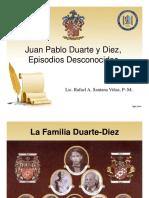 Juan Pablo Duarte Episodios Desconocidos