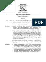 Perbup No. 50 Tata Naskah Dinas 2011