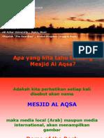 Masjid AL AQSA Yang Sebenarnya