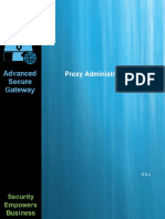 Advanced Secure Gateway Proxy Admin