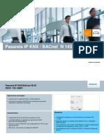 Pasarela Ip Knx-bacnet n143-2