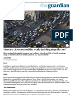 How Are Cities Around the World Tackling Air Pollution_ _ Environment _ the Guardian