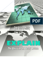 The Christian and Jesus Return Mini Course 2010