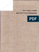 Arhitectura Peisajului - John Ormsbee Simonds