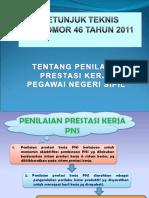 Perka BKN No 1 TH 2013 Ttg Juklak PP 46 TH. 2011
