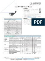 Vishay Primary MTP IGBT Power Module