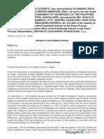 Province of Cotobato v Grp Peace Panel Separate Concurring Opinion Puno Cj