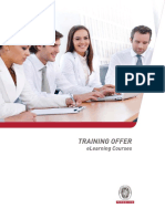 Training Offer Elearning Courses 2014