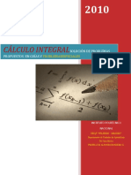 Cálculo Integral Solucion Problemas Ipn