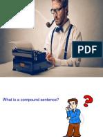 2. Combining Sentences in English. Compound Sentences