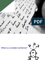 3. Combining Sentenes in English. Complex Sentences. Part 1