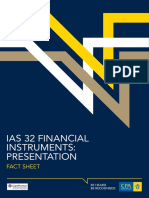 Reporting Ifrsfactsheet Financial Instruments Presentation