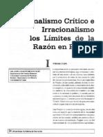 Los Límites de La Razón en Popper - Betancourt. Art